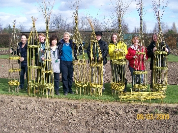 Willow Wigwams - thanks Andrea !